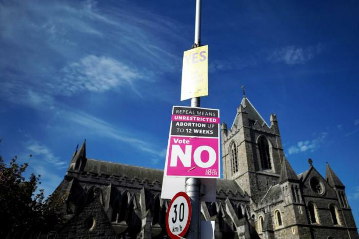 Support surges on eve of vote to lift abortion ban in Ireland